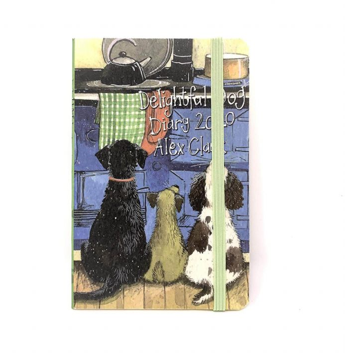 Alex Clark Delightful Dog 2020 Pocket Size Diary